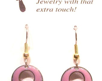 Little Domed Circles - Pink