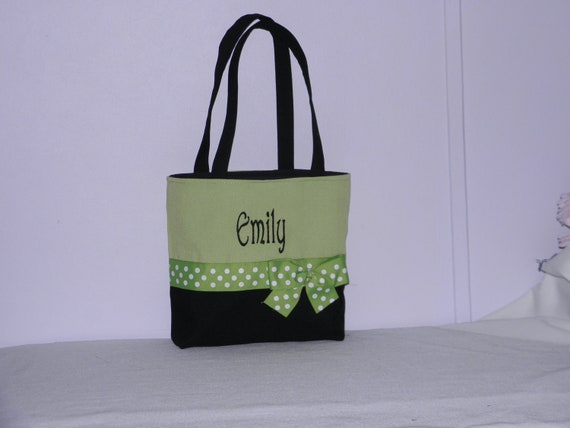 Monogrammed / Personalized Tote, Purse, Bridesmaid Gift