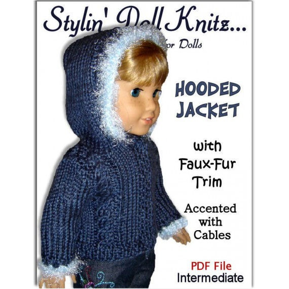 Knitting Patterns For Maplelea Dolls : Knitting Patterns, Fit American girl Doll, 18 inch ...