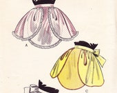 Vintage 1950's Quick & Easy Apron Pattern - Butterick 6743