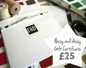 Flossy and Dossy Gift Certificate