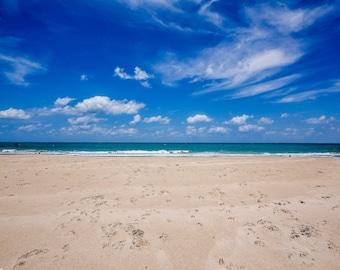 Vero Beach Florida in Summer Fine Art Print - Travel, Scenic, Landscape, Nature, Home Decor, Zen