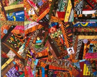 Dream Like Crazy art quilt