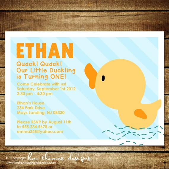 Rubber duckystom printable birthday invitations km thomas il570xn filmwisefo Image collections