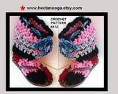crochet slippers, supplies,  PATTERN,  Adult, accessories, women, clothing,  Num. 472, Instant Download