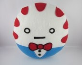 Peppermint Butler Pillow - Made to Order