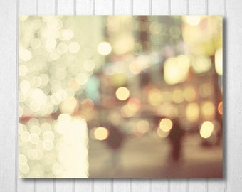 BUY 2 GET 1 FREE City Photography, Toronto, Bokeh, Night time, Lights, Downtown, fpoe, Wall Decor, Office - Bokeh in the City