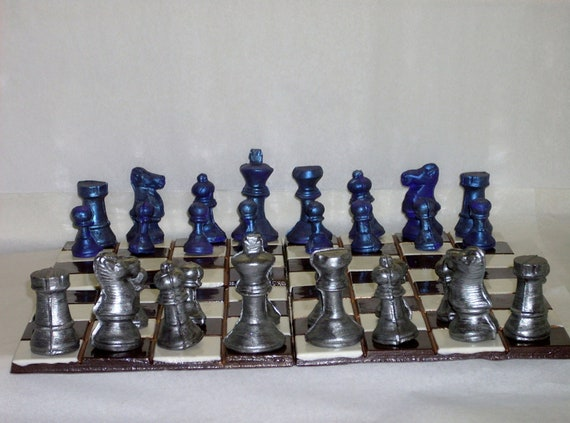 life sized chocolate chess set by candycottage on etsy