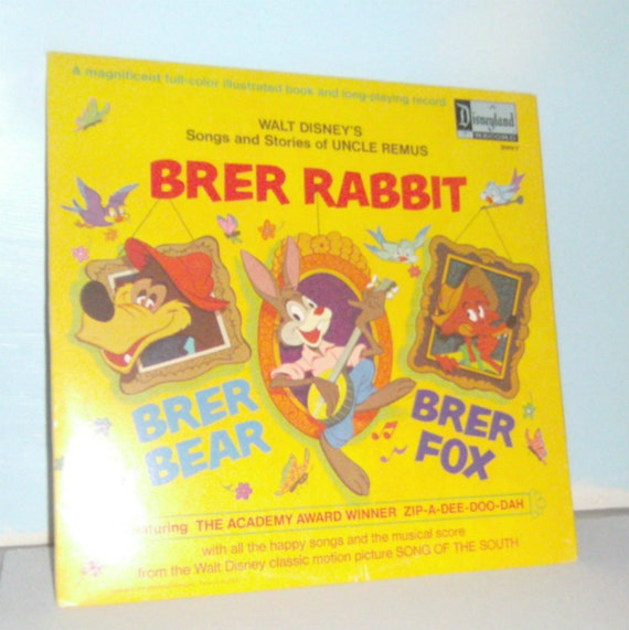 Vintage Disney Storybook Album Uncle Remus Brer Rabbit