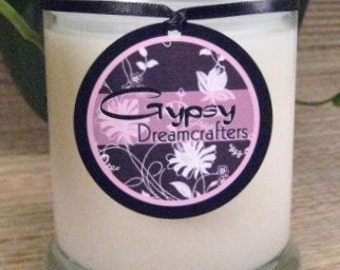 COCONUT LIME VERBENA - 12 oz. Soy Candle