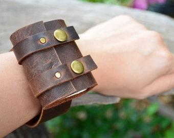 MiNiBook Treasure Bag Bracelets Brown color