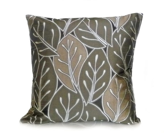 Throw Pillows For Sage Green Couch : Decorative Throw Pillows Contemporary Couch by PillowThrowDecor