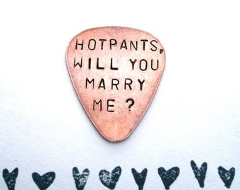 Personalized Proposal Guitar Pick