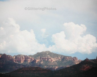 Arizona, Mountains, Red Rock State Park, Sedona, AZ, Fine Art, Photograph, Print, Metallic, 8 x 10, OOAK