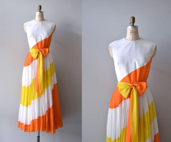 1970s maxi dress / Jack Bryan 70s maxi / Equatorial Boundary