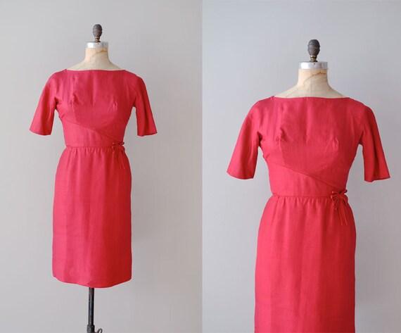 1960s dress / silk 60s dress / Candy Girl