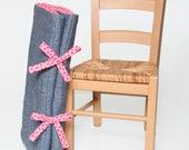 Organic NAP MAT in Pink Polka Dots - Toddler Girls PreSchool Daycare Napmat - School Bedding