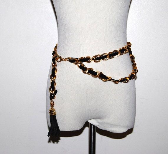 Vintage Belt Chain with Fringe