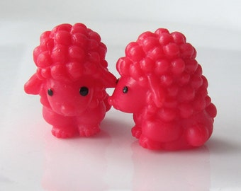 LAST SETS - Poodles on Parade - Needle Buddies - Small Sock Size Double Pointed Needle DPN Holders