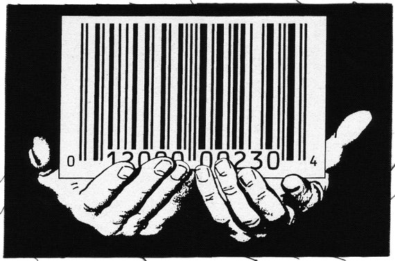 Barcode Back Patch