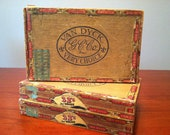 Vintage Van Dyck Cigar Boxes - Lot of 3