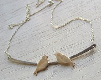 Little birdies necklace