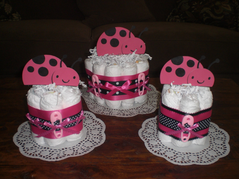 Ladybug Diaper Cake Ideas