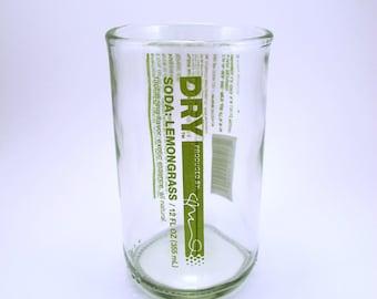 YAVA Glass - Upcycled Dry Soda Glass (Lemongrass)