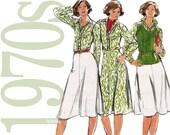 70s Separates Vintage Pattern - B34 - Butterick 5275 - Uncut, Factory Folds