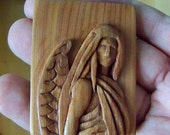 Carved Cedar Angel