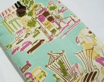 Kindle Fire cover, Kindle sleeve case cover, Nook cover, Galaxy Tab  Sleeve Kindle case eReader cover  - Street in Paris