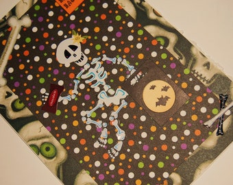 Halloween Greeting Card - Blank Inside