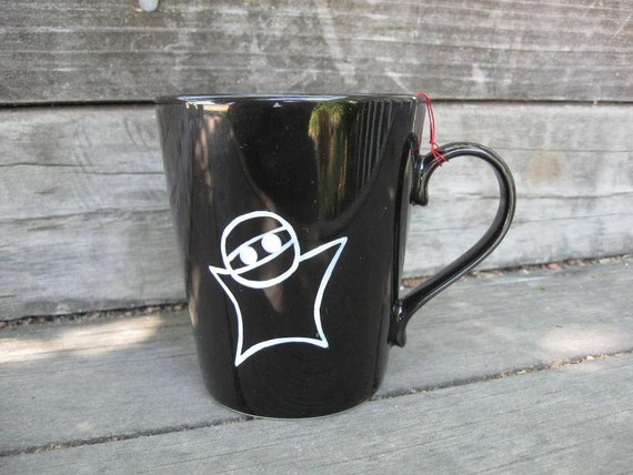 Reserved for jyyydesigns - NINJA Mug