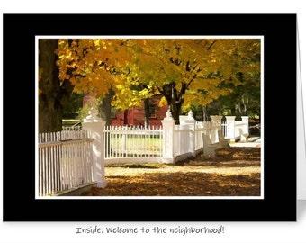 Welcome to the neighborhood 5 x 7 greeting card