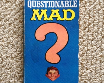 1967 The Questionable Mad paperback book