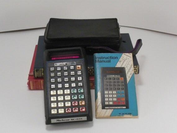 Vintage Science Nerd Gear Melcor Scientific Calculator SC-635