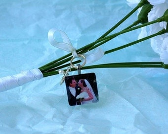 Wedding Bouquet Custom Photo Charm