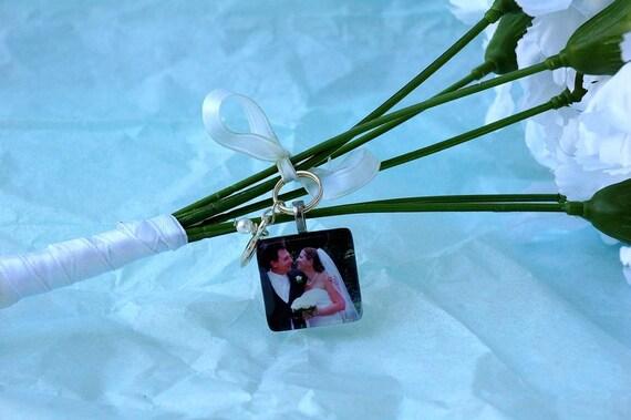 Wedding Bouquet Custom Photo Charm