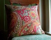 Rustic Paisley Home Decor pillow case