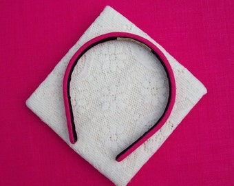 Hot Pink Headband Narrow