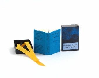 Artist Book The City - Mini Pop-Up Book in a Matchbox