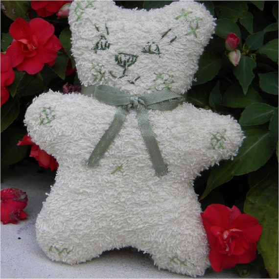 Baby-safe toy teddy bear