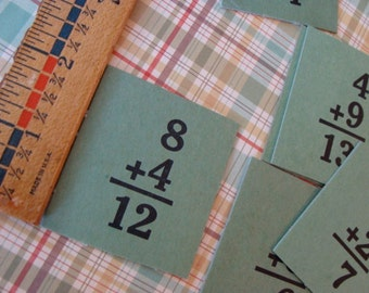 1940s Awesome Antique Hardboard Flash Cards