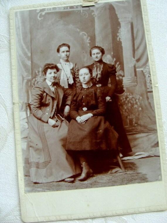 Antique Photo Victorian Society
