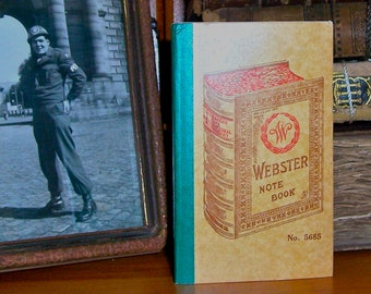 4 Antique Webster Notebooks/ Lot of4 Small Notebooks /Four /No. 5685 /Early 1900's / Unused /New Old Stock /Office Writing Supplies