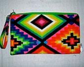 Navajo Wallet Wristlet Clutch - Tribal Womans Fashion