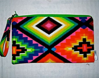 Navajo Wallet Wristlet Clutch - Tribal Womans Fashion