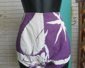 40s HIGH Waist HAWAIIAN Short Shorts 1940s