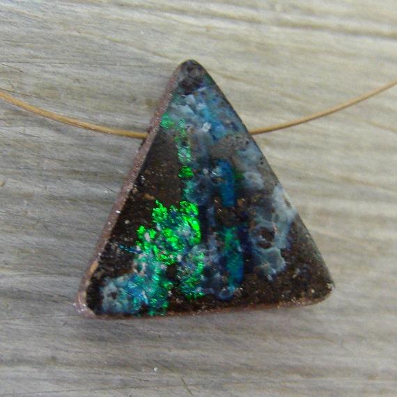 Boulder Opal Pendant Bead Destash