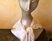 Antique Chantily Lace Collar